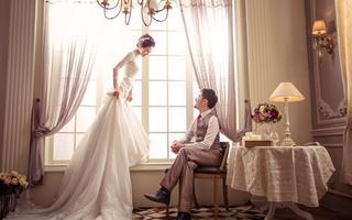 欧式婚纱照——幸福宫殿4