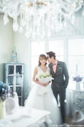 【韩式婚纱照】幸福是长久的陪伴