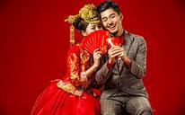 中国新娘主题系列 复古风婚纱照