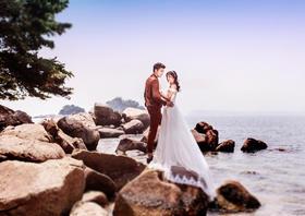 定情浪漫海——唯美婚纱照