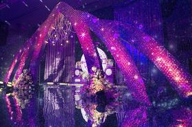 【麥芮·謎】高端定制紫色主题婚礼