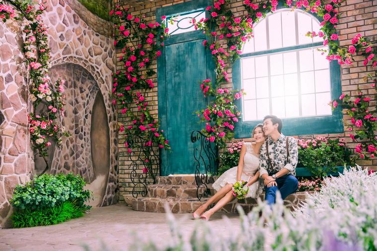 爱情乐园-欧式婚纱照