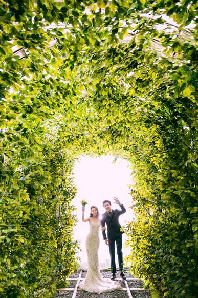 爱情隧道-森系婚纱照