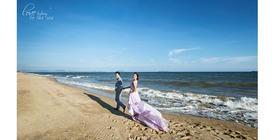 浪漫沙滩婚纱照