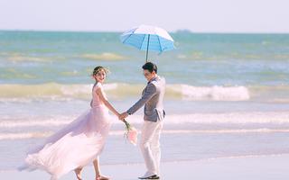 【海景婚纱照】东海岸你是我的小幸运