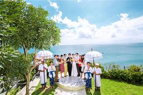 巴厘岛蓝点教堂婚礼客片 【维汀海外婚礼】