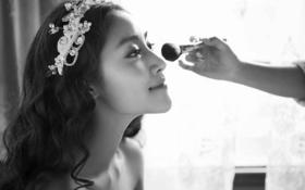 聚焦风尚黑白印象婚纱照