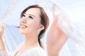 韩式星光海岸主题婚纱摄影
