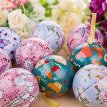 欧式球形马口铁结婚礼糖盒 喜糖盒子批发 zakka创意糖果盒