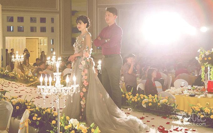婚礼场地:酒店 婚礼主题:欧式 婚礼摄影:爱琴海摄影团队 婚礼摄像
