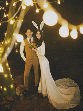 【广州雨墨】夜景婚纱客片大赏-二沙岛