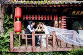#波西米亚旅拍婚纱摄影# 丽江 束河古镇