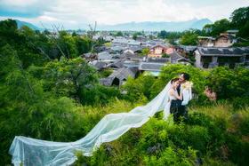 #波西米亚旅拍婚纱摄影# 丽江清新婚纱照
