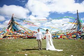 染影映画 青海旅拍婚纱照 拍有趣而富有情感的照片