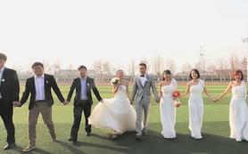 专业档婚礼跟拍