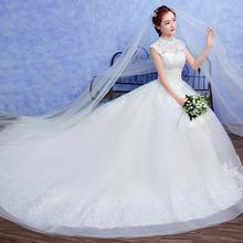 【厂家官方正品送9件套】婚纱礼服新娘韩版复古中式显瘦长拖尾