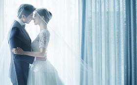 90后韩式婚纱照