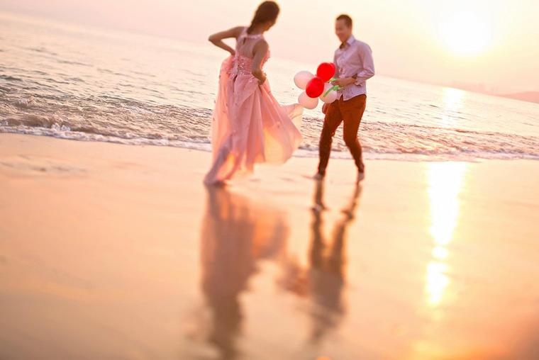 水下旅拍婚纱照