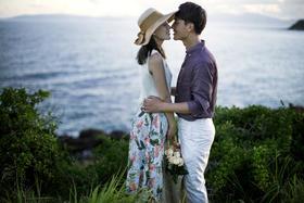 薇爱摄影〖三亚唯美婚纱照〗研发作品 |暮光