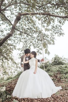 【镜花堂摄影】小清新城市旅拍婚纱照系列——【划过之间的流连】