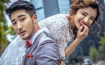 【镜花堂摄影】时尚城市街拍婚纱照系列——【都市恋人】
