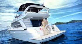 【2046全球旅拍】---三亚游艇婚纱照