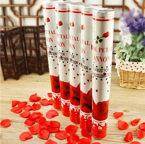 结婚用品婚庆礼花筒礼炮庆典派对手持礼宾花喷彩花瓣礼花