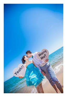 #波西米亚旅拍婚纱摄影# 三亚站 碧海蓝天