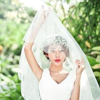 森林婚纱照