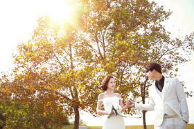 韩国芭妃|动感纪实风婚纱照