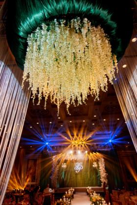 森系舞台婚礼布置