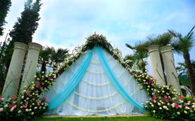 【嫁给幸福】户外草坪风格--T蓝小清新