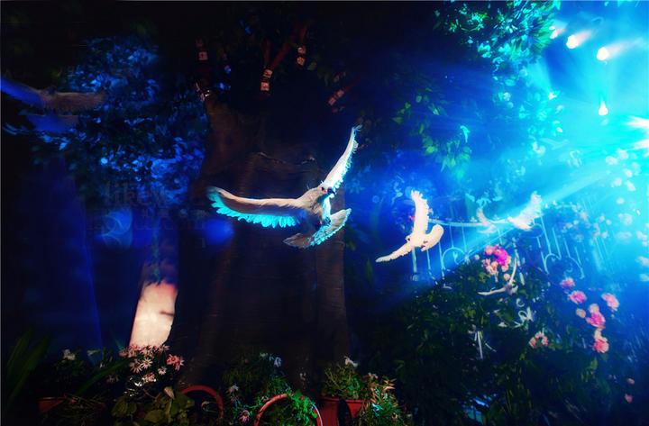 《微光森林》森系主题婚礼