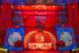 新中式婚礼 永雁主题婚礼现场效果图