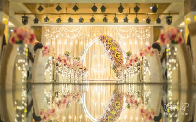 婚礼合影背景素材