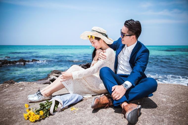 克洛伊全球旅拍【济州岛站韩式婚纱照 】感谢:卢金谙&叶琳蔚