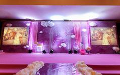 【嫁给幸福】简约风格--粉紫色色系