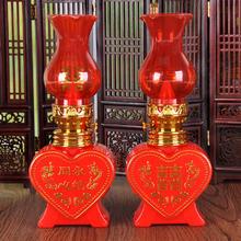 结婚专用婚礼床头台灯 永结同心喜字电子蜡烛灯LED桃心灯