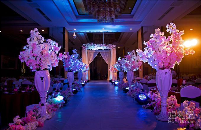 暗场婚礼led屏幕素材