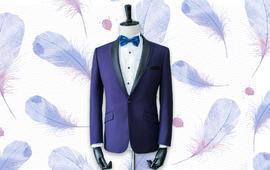 结婚礼服 意大利进口面料维达莱 超值三件套