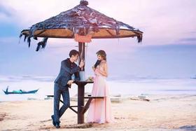 海景婚纱照拍摄