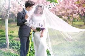 【小清新韩式婚纱照】世纪新娘婚纱摄影