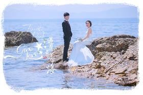 【小清新唯美婚纱照】李晓静夫妇