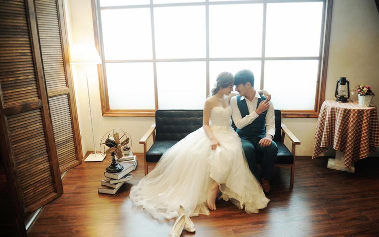 大连爱情故事1——韩式婚纱照