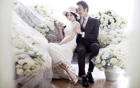 玫瑰之约【韩式唯美婚纱照】