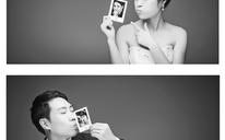 黑白内景婚纱照