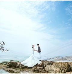 小清新沙滩婚纱照