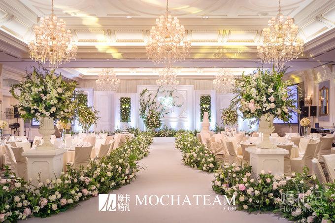 【摩卡婚礼】初春丨一场小清新的森系婚礼