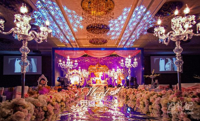婚礼纪圆形舞台