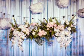 创意棉花糖主题婚礼